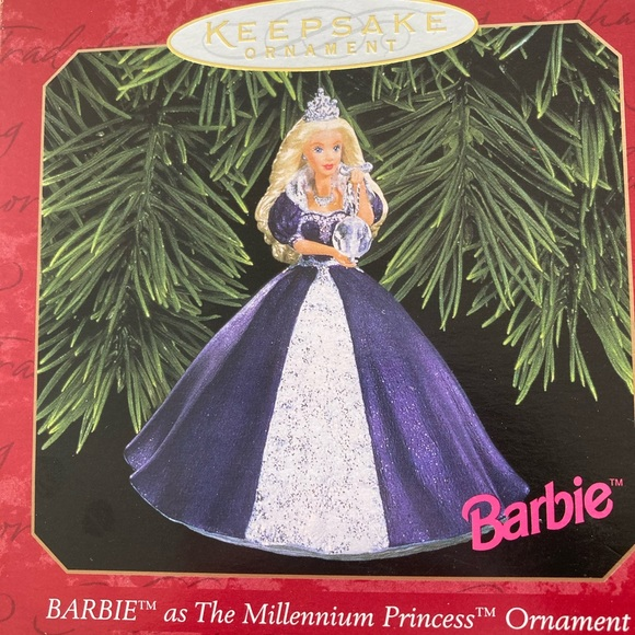 Barbie Millennium Princess Ornament